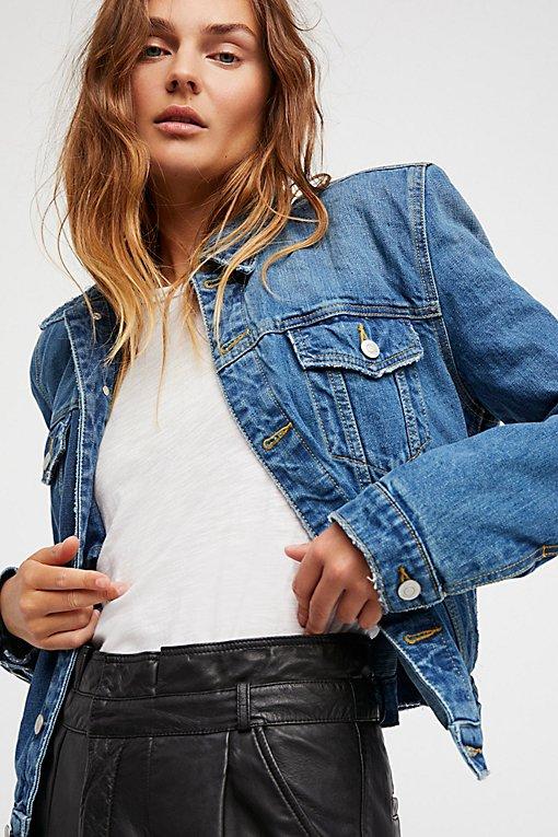 Product Image: Strong Shoulder Denim Jacket
