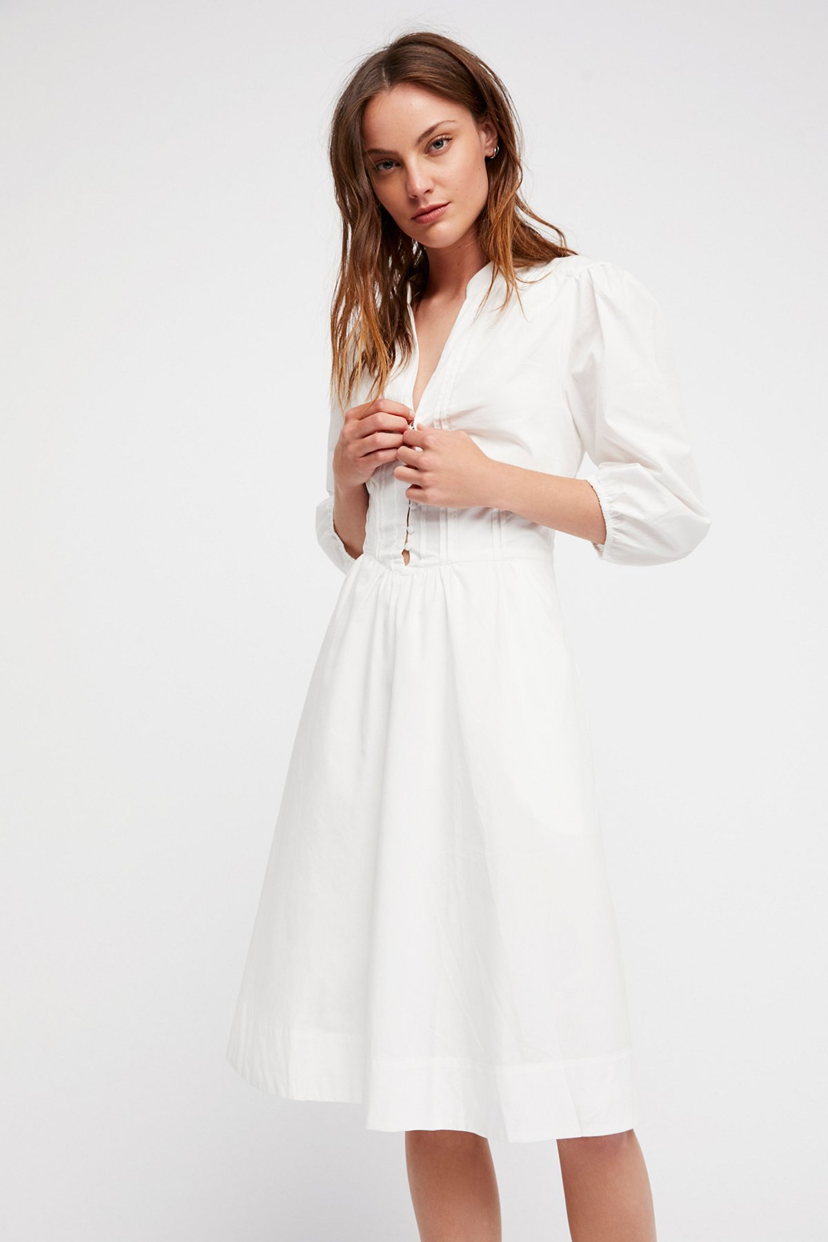 Summer Winds Midi Dress