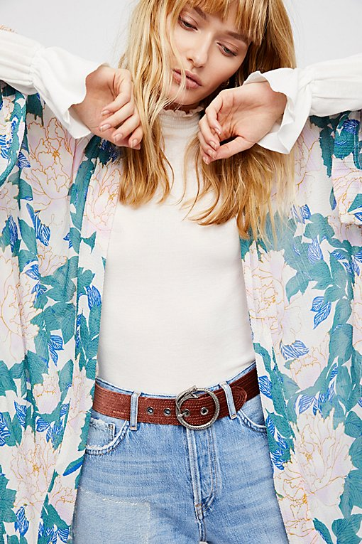 Product Image: Serpentine Velvet Belt