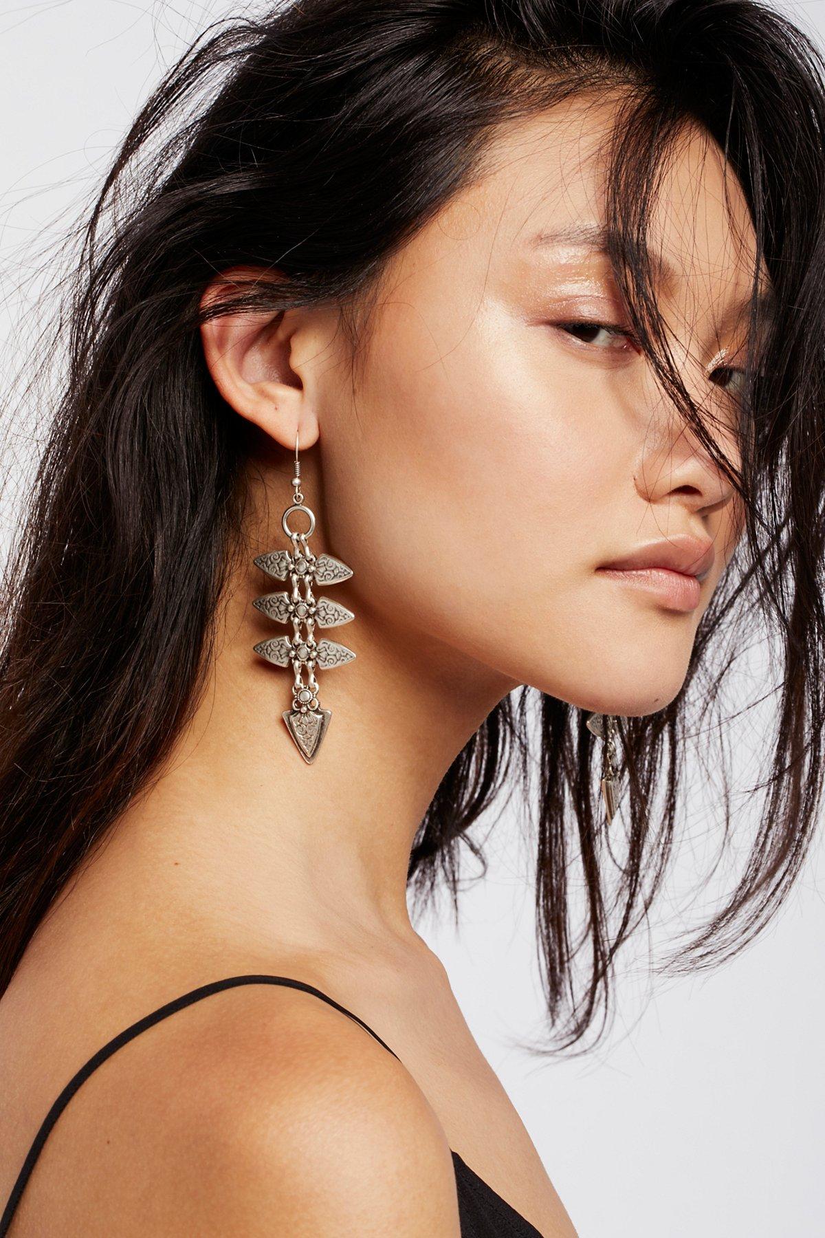 Ladder Metal Earrings