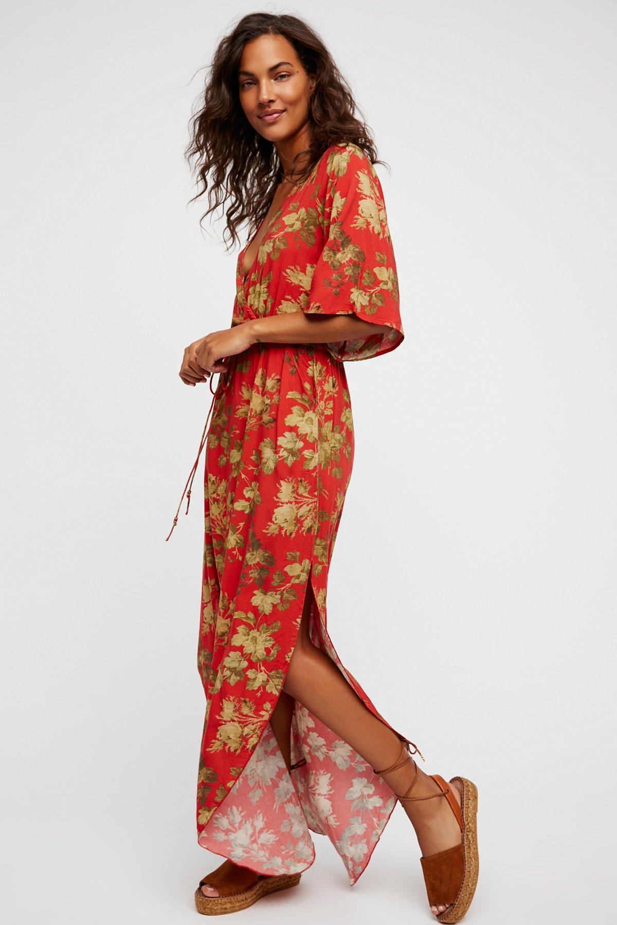 Rachel Printed Dress