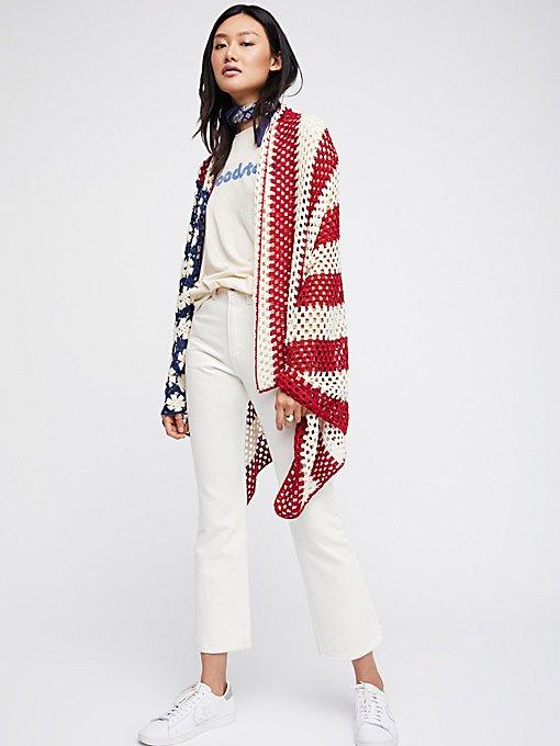 Product Image: Lady Liberty Crochet Shawl