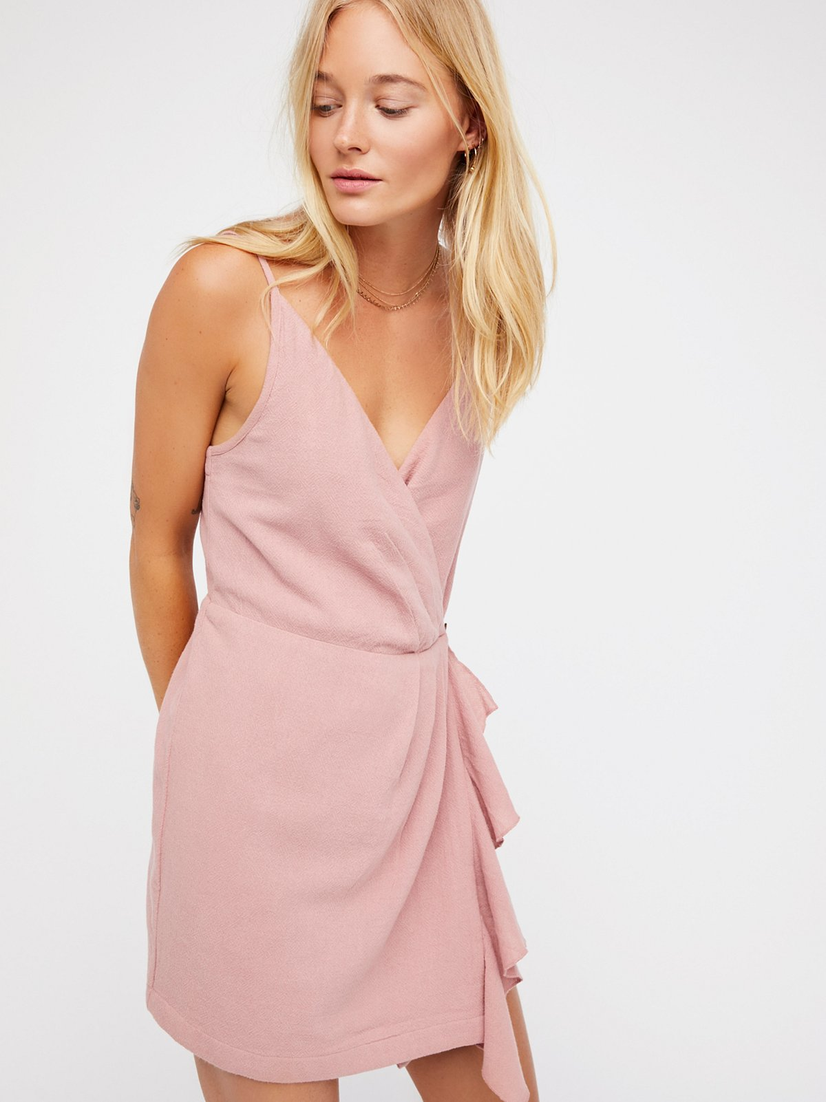 Call It Simple Love Mini Dress