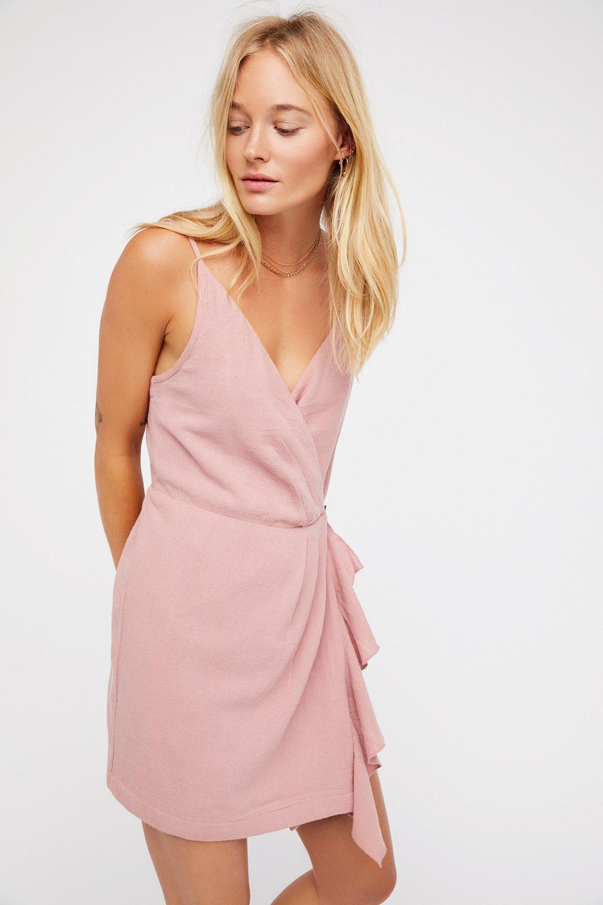 Call It Simple Love Mini Dress