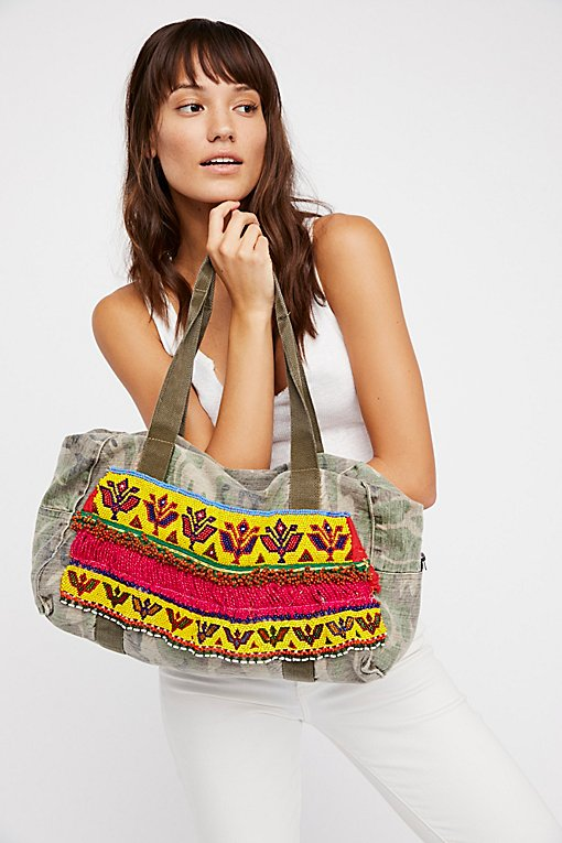 Product Image: Hmong Embellished Tote