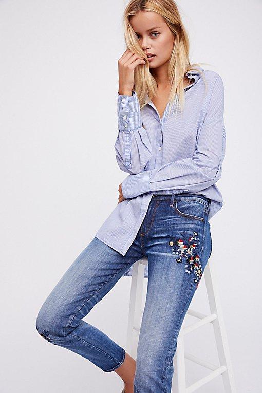 Product Image: Beau男友式牛仔裤