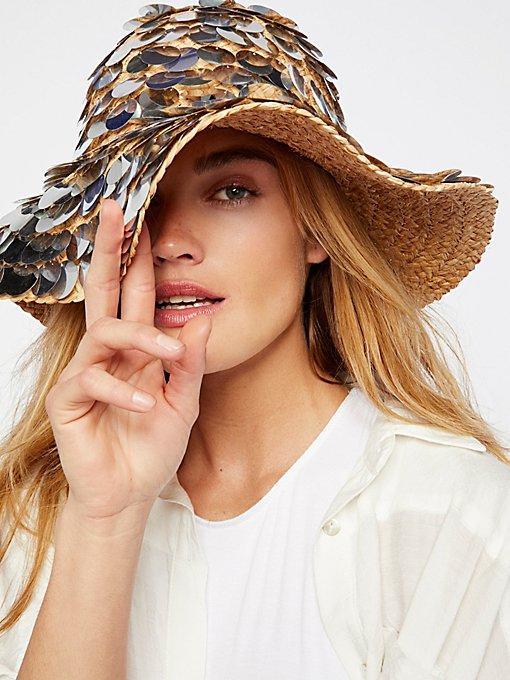 Product Image: St. Lucia Paillette Hat