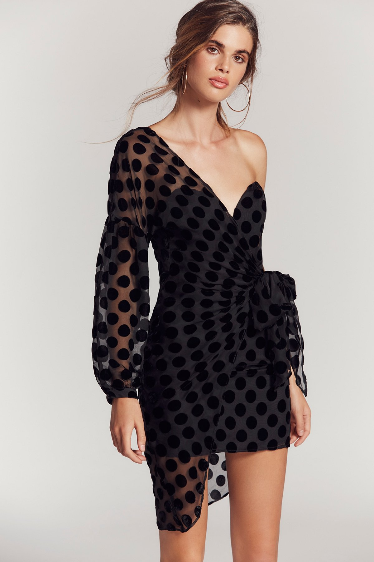 Caught Out Draped Dress at Free People Clothing Boutique