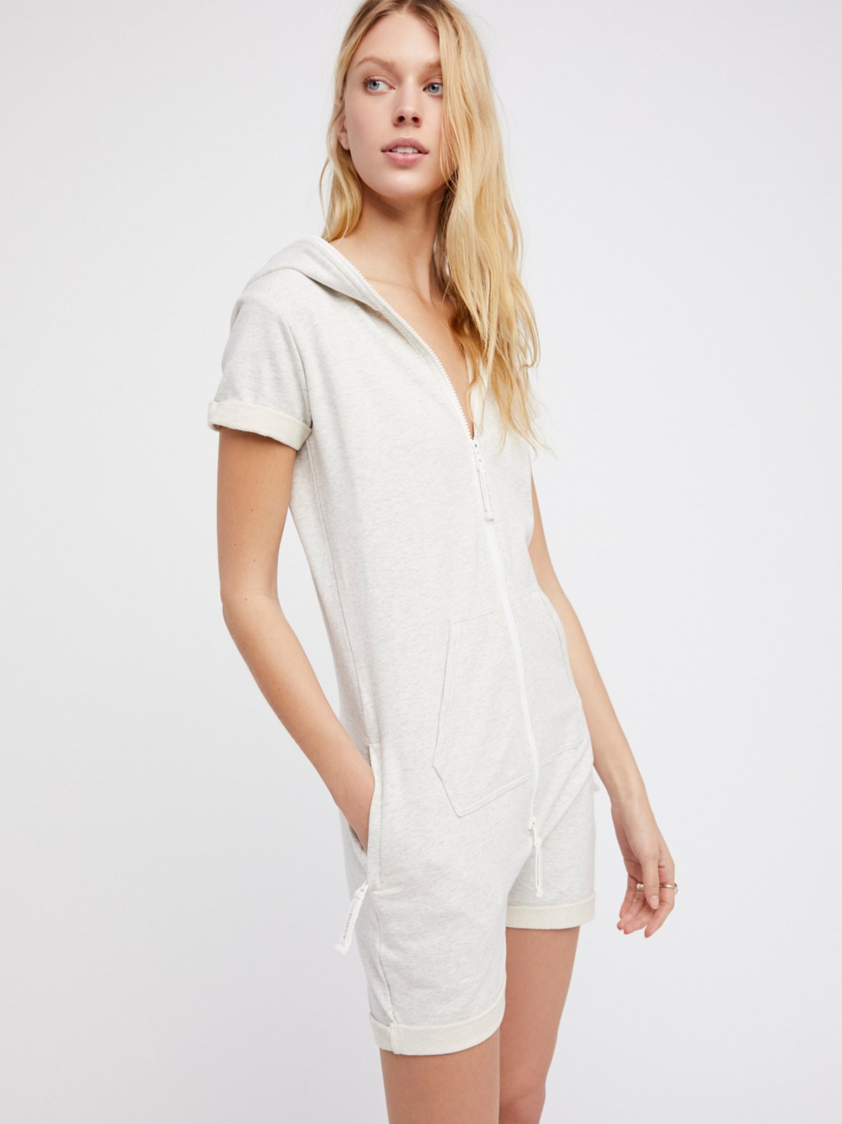 Fitted Short Playsuit