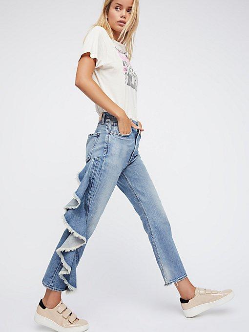 Product Image: Estella Side Ruffle Jean