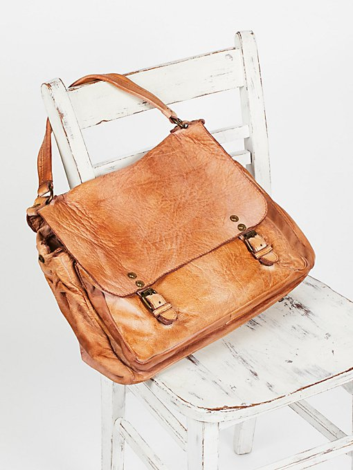 Product Image: Firenze Leather Messenger