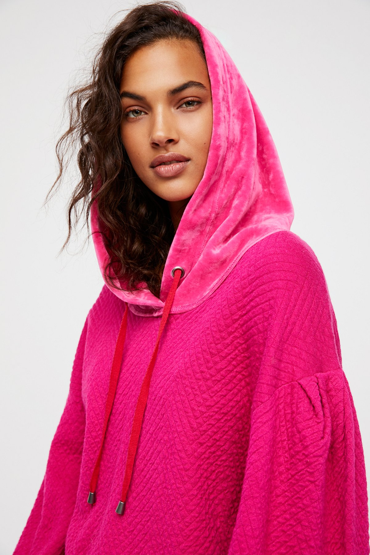 Comfy Quilted Hoodie