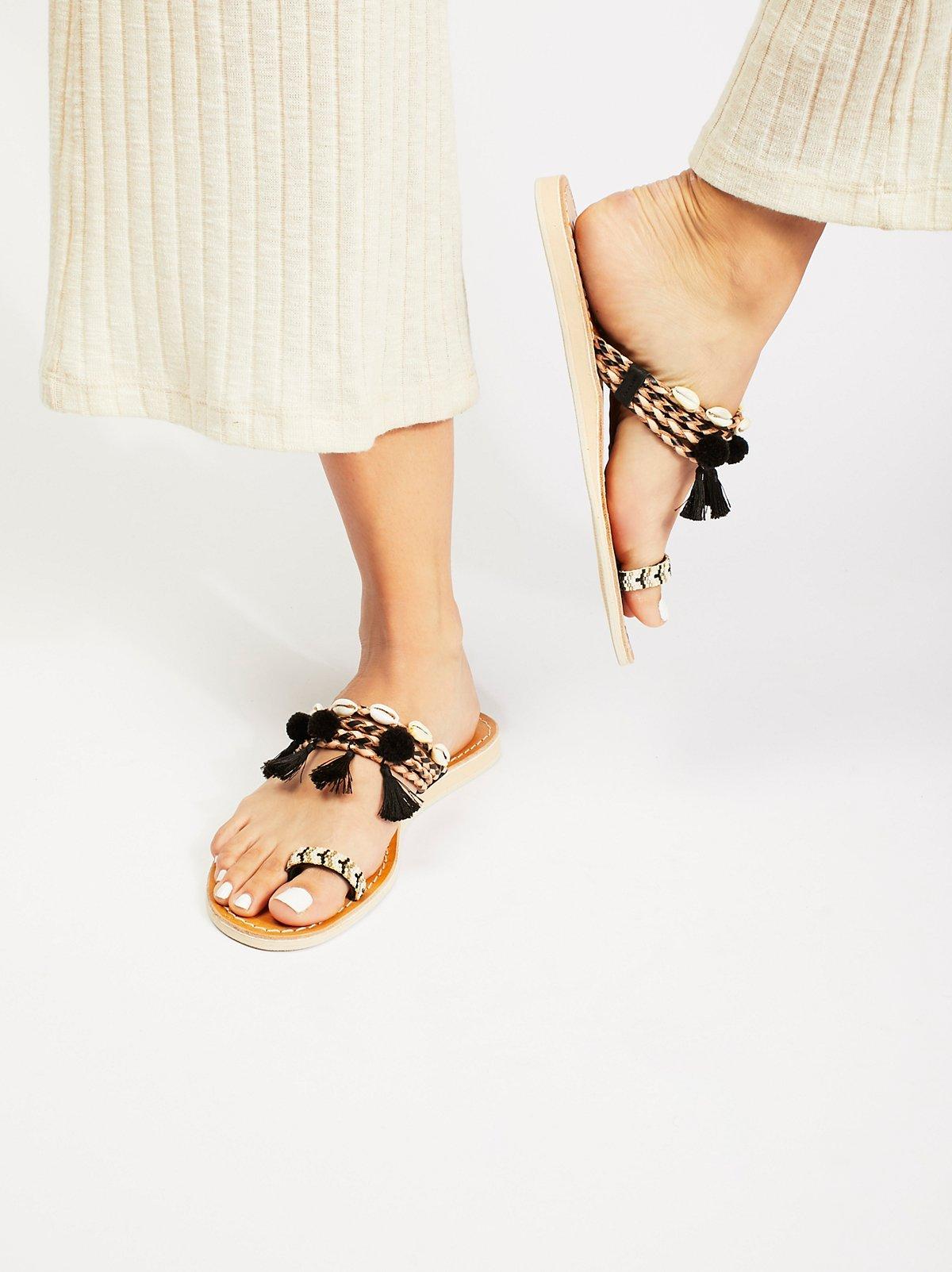 Kopi Embellished Sandal