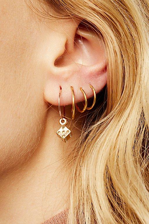 Product Image: Charming Hoop Earring Set
