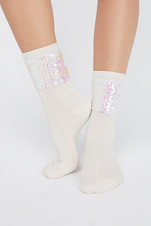 Product Image: Ziggy Sequin Sock