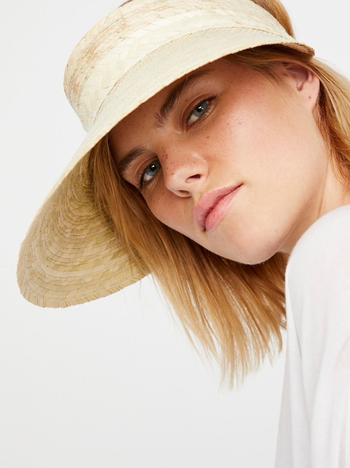 Au Natural Straw Visor