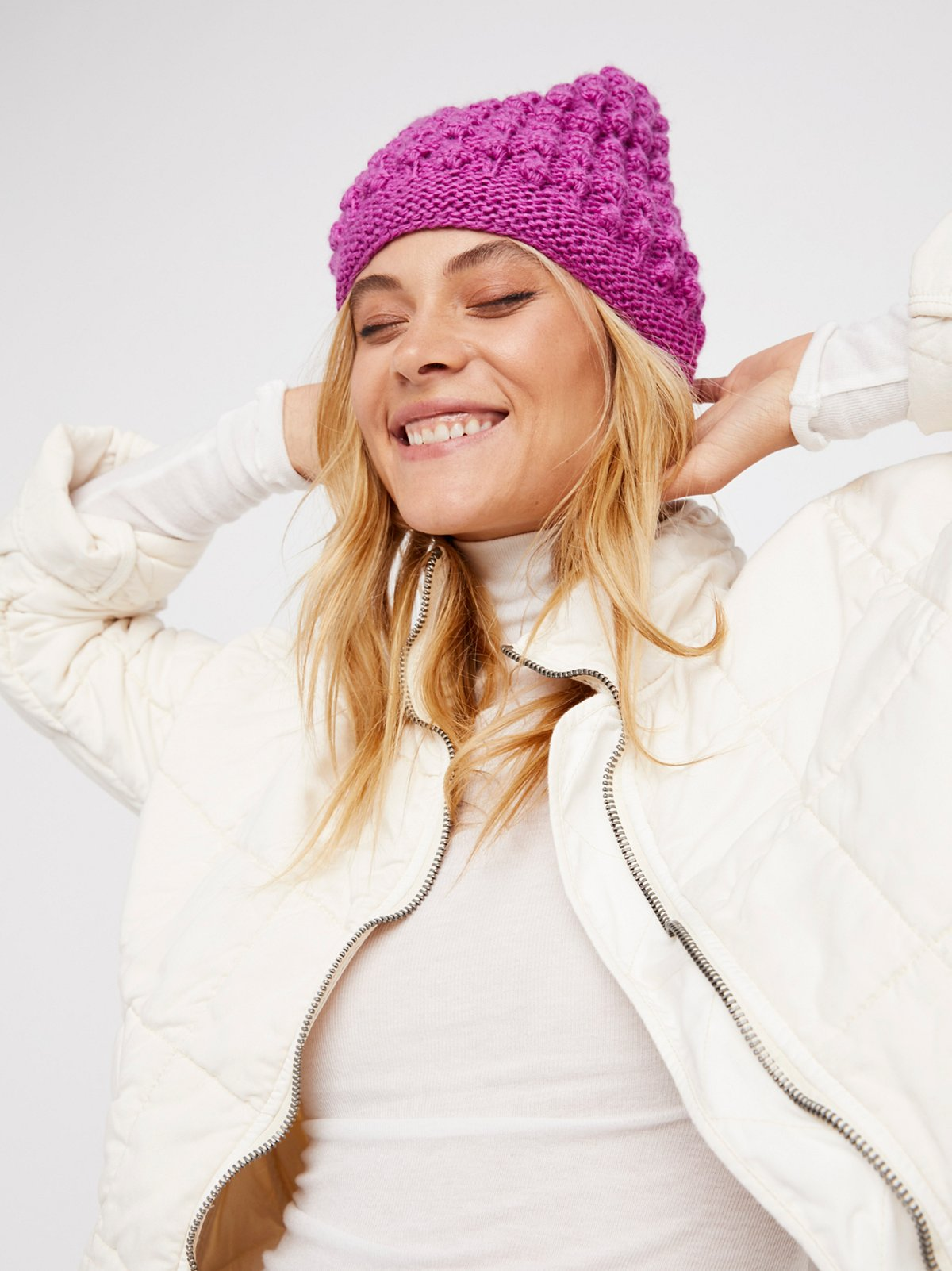 Bobble Slouch Beanie