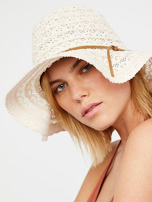Product Image: Alana蕾丝巴拿马帽
