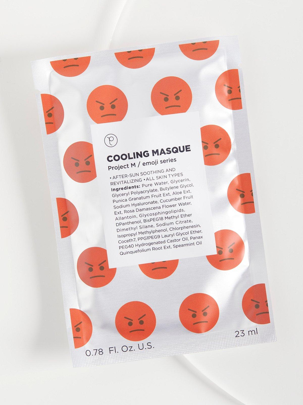 Cooling Emoji Masque