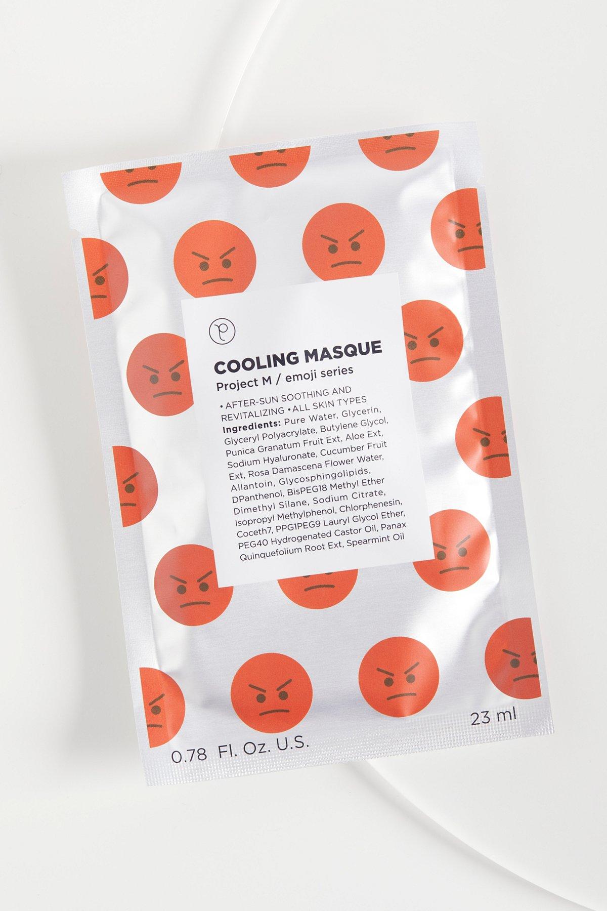 Cooling Emoji Mask