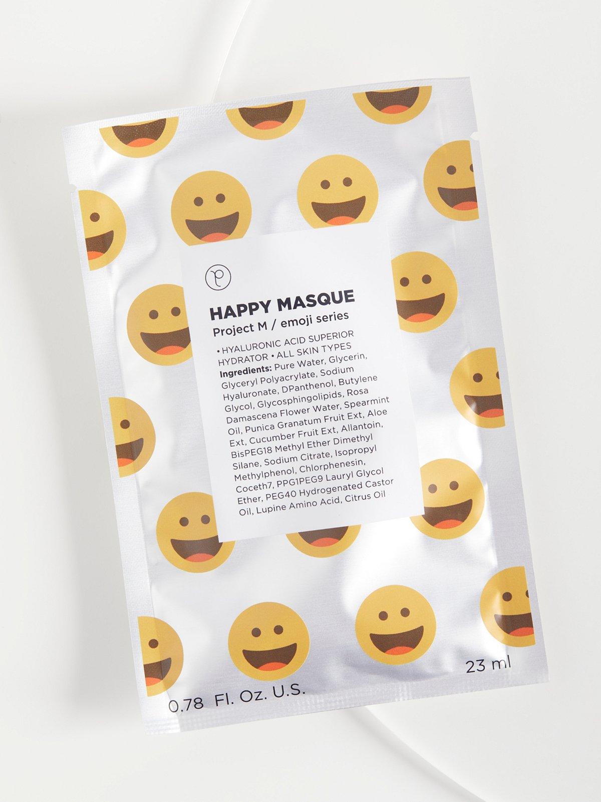 Happy Emoji Masque