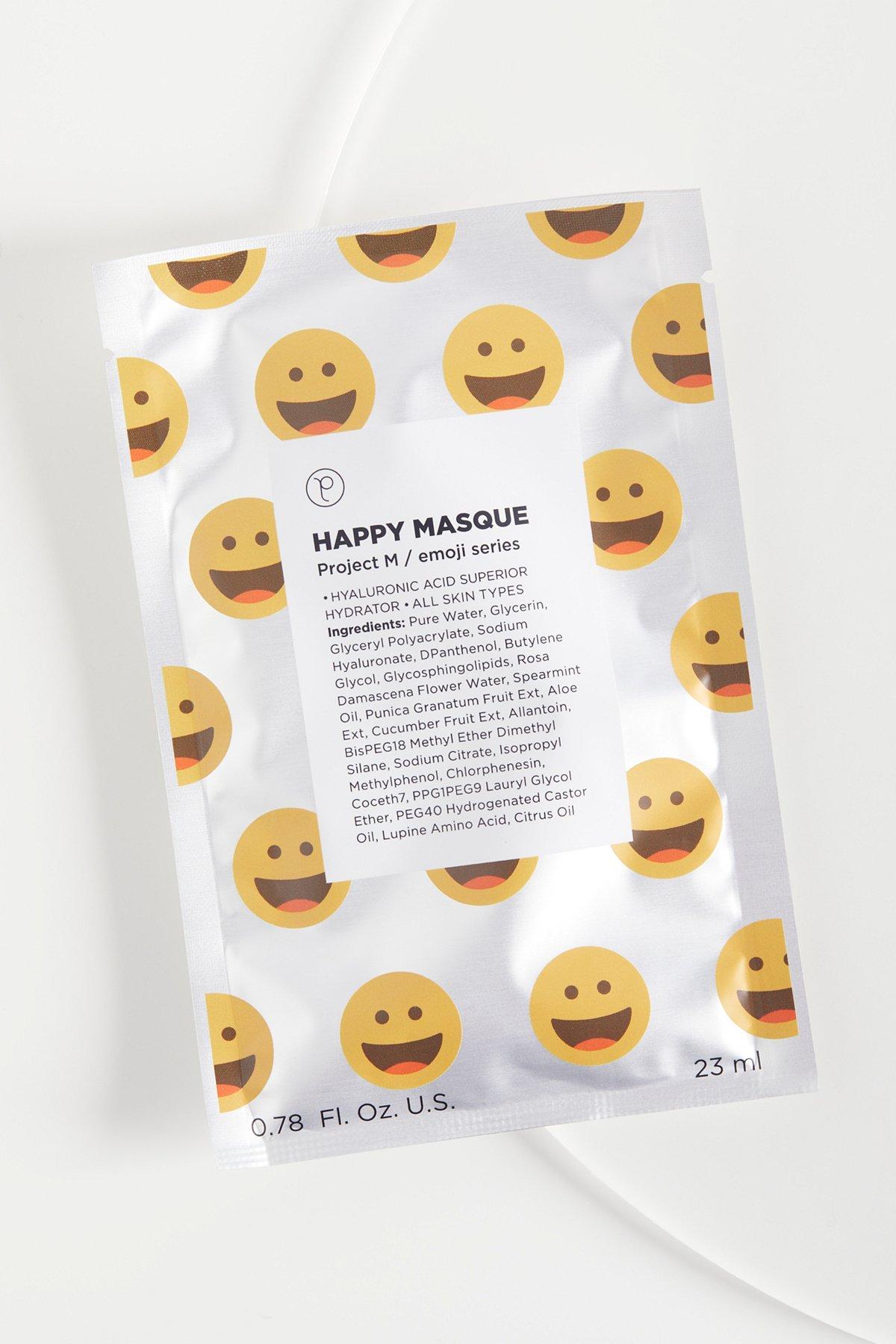 Happy Emoji Mask