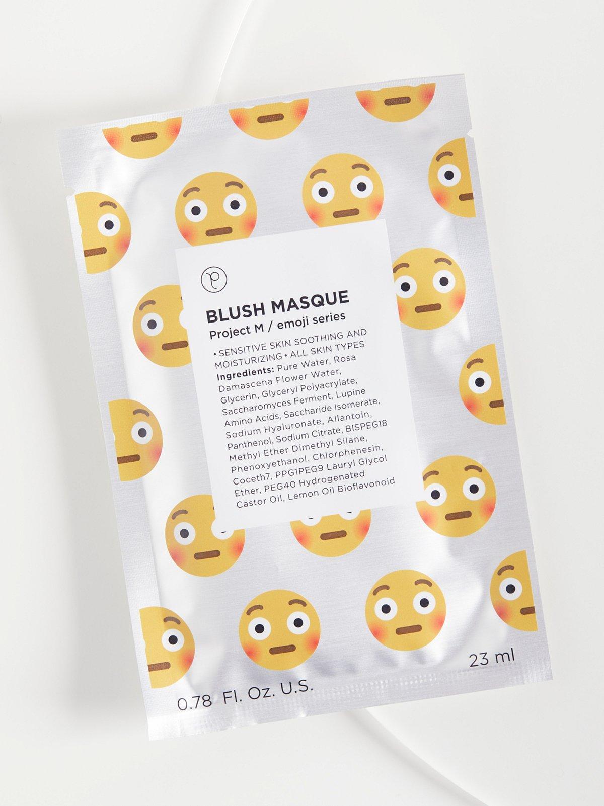 Blush Emoji Masque