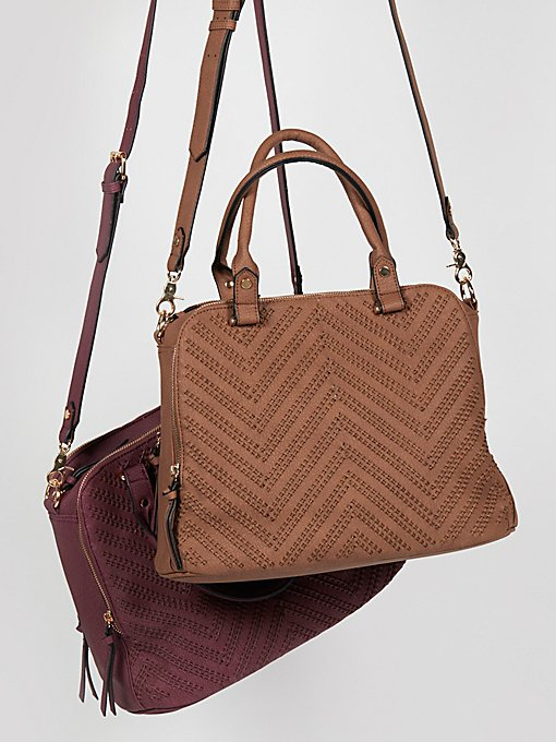 Product Image: Logan Vegan Woven Front Tote