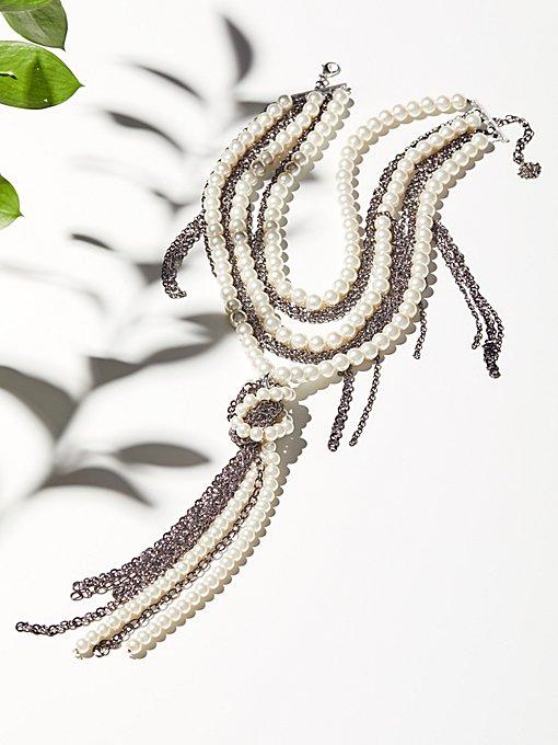 Product Image: 珍珠 x 链结项链