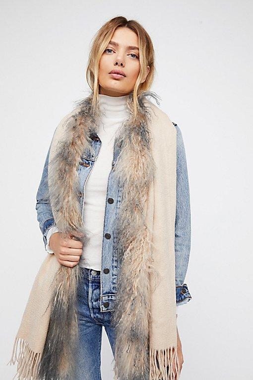 Product Image: Mongolian Fur Scarf