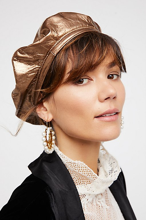 Product Image: Lolita皮革贝雷帽