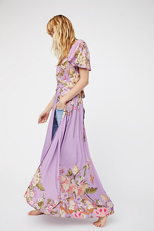 Product Image: Blue Skies Exclusive Wrap Maxi Dress
