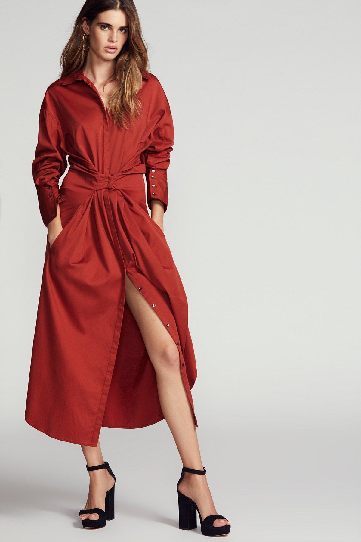 Hook Shirt Dress