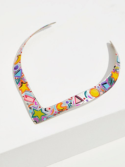 Product Image: Hand Painted Happy Collar