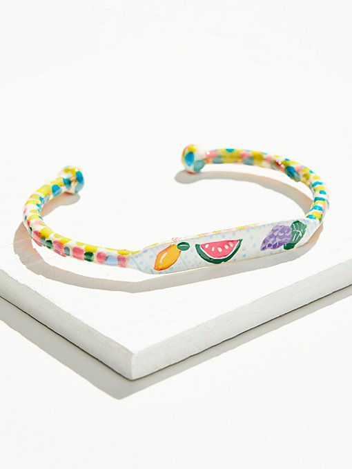 Product Image: Hand Painted Cabana Fruit Cuff