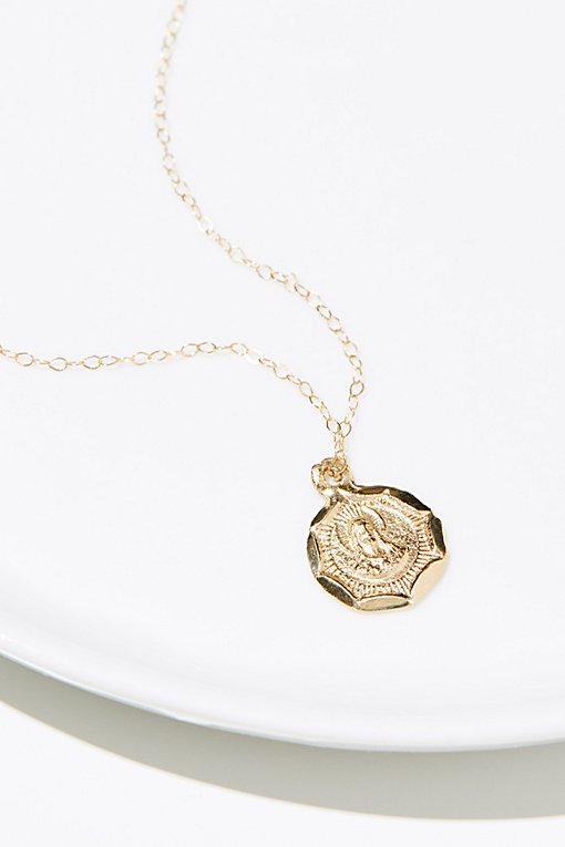 Product Image: 14K Vintage Charm Necklace