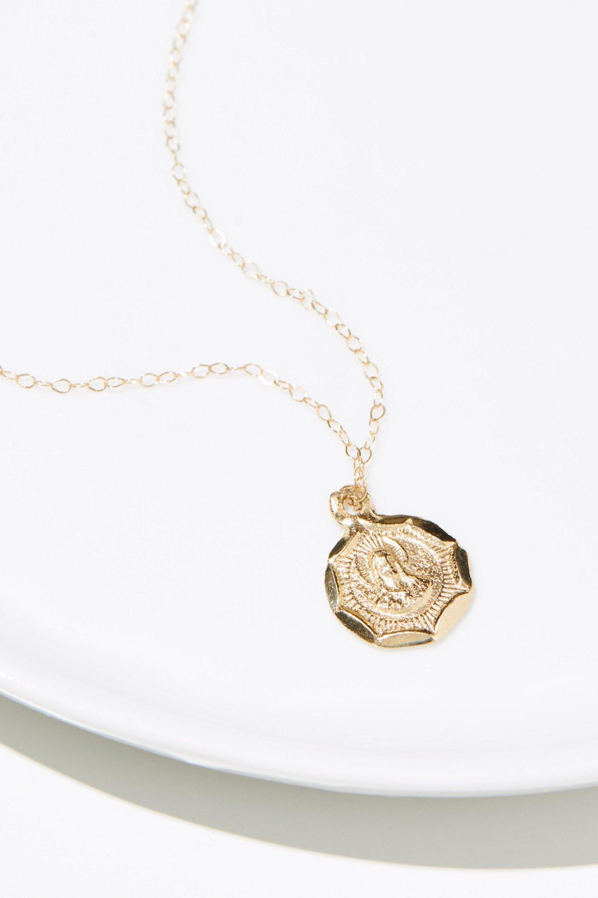 14K Vintage Charm Necklace