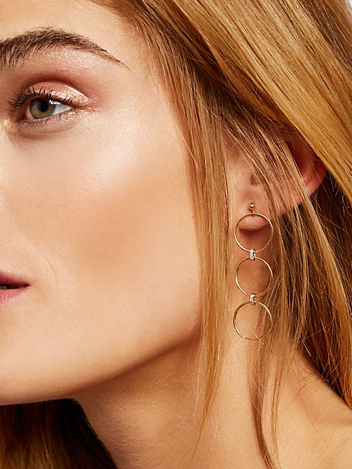 Product Image: 14K Diamond Convertible Earrings