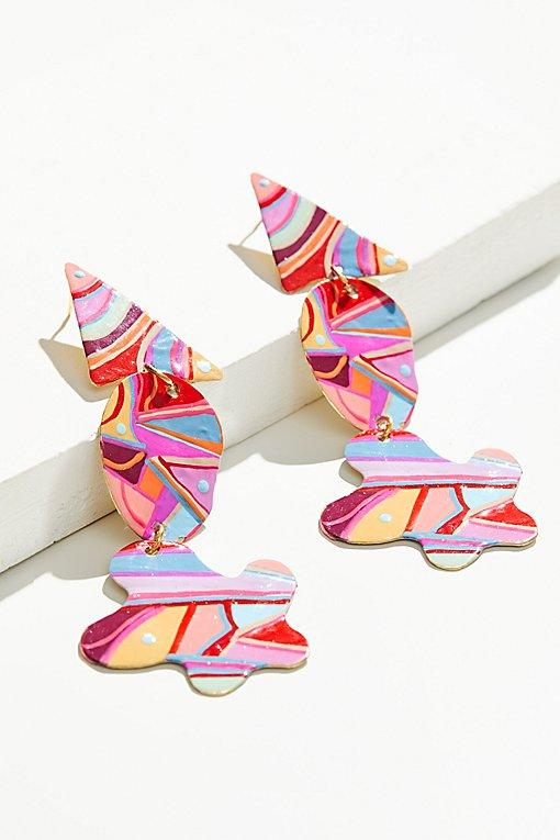 Product Image: Hand Painted Gilda Earrings