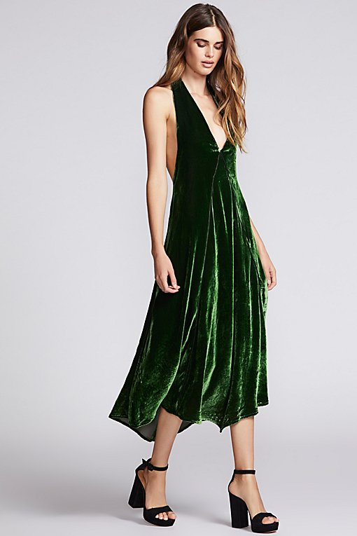 Product Image: Walter Velvet Midi Dress