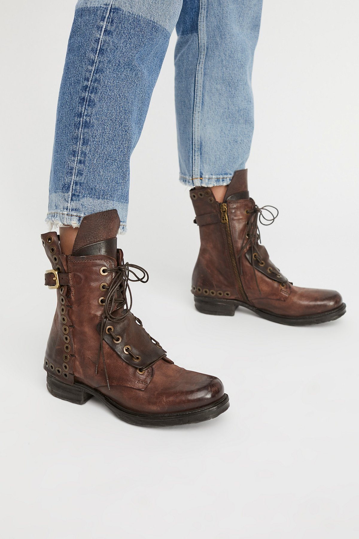 Lucas Lace Up Boot