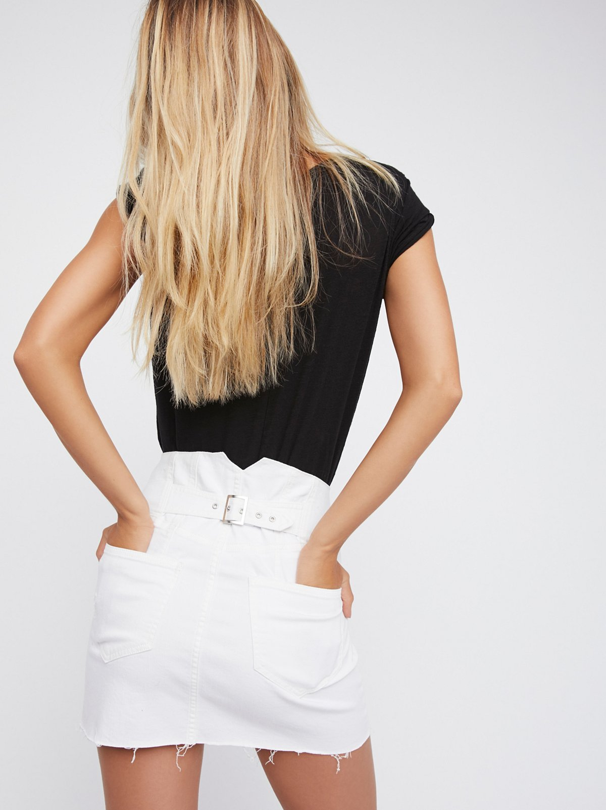 Corsette Mini Skirt