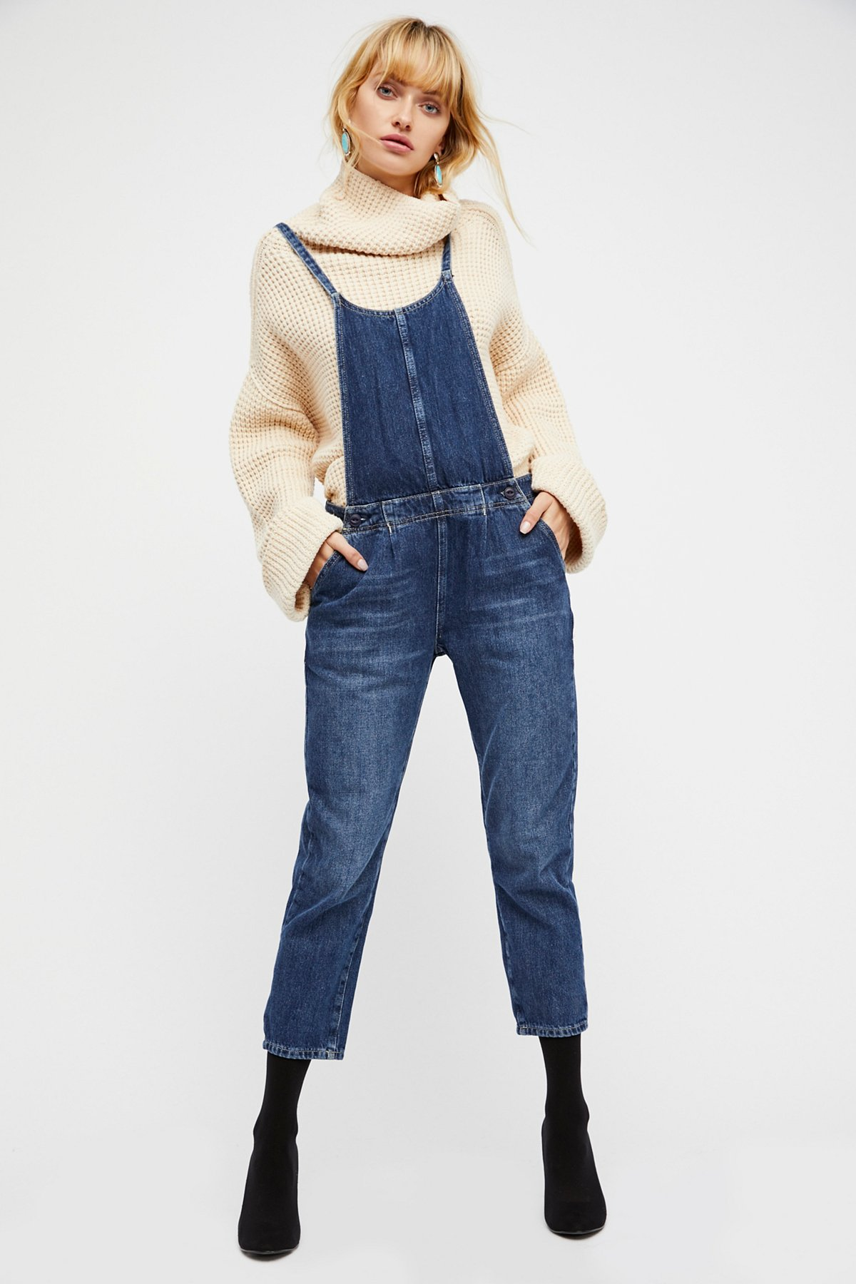 Pleated Overall