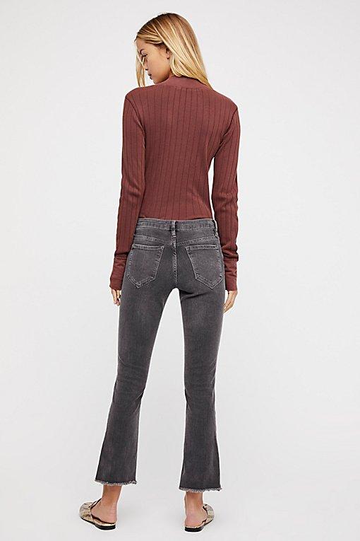 Product Image: 直筒七分牛仔裤
