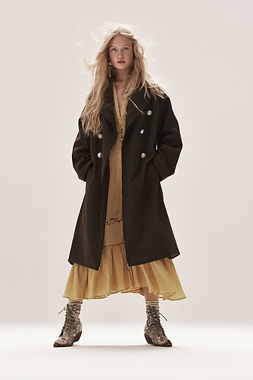 Product Image: Slouchy Wool Coat