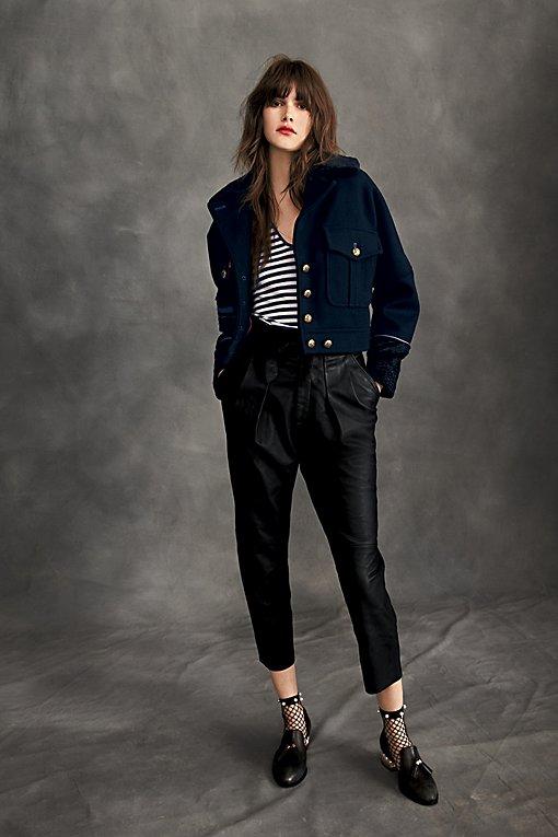 Product Image: Nightfall Cropped Leather Pants
