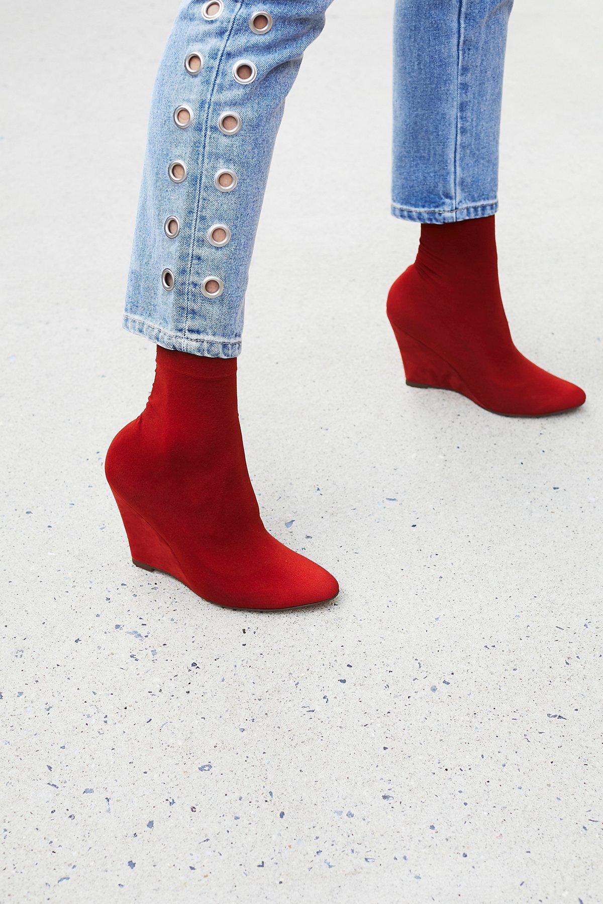 Vegan Luxe Sock Boot