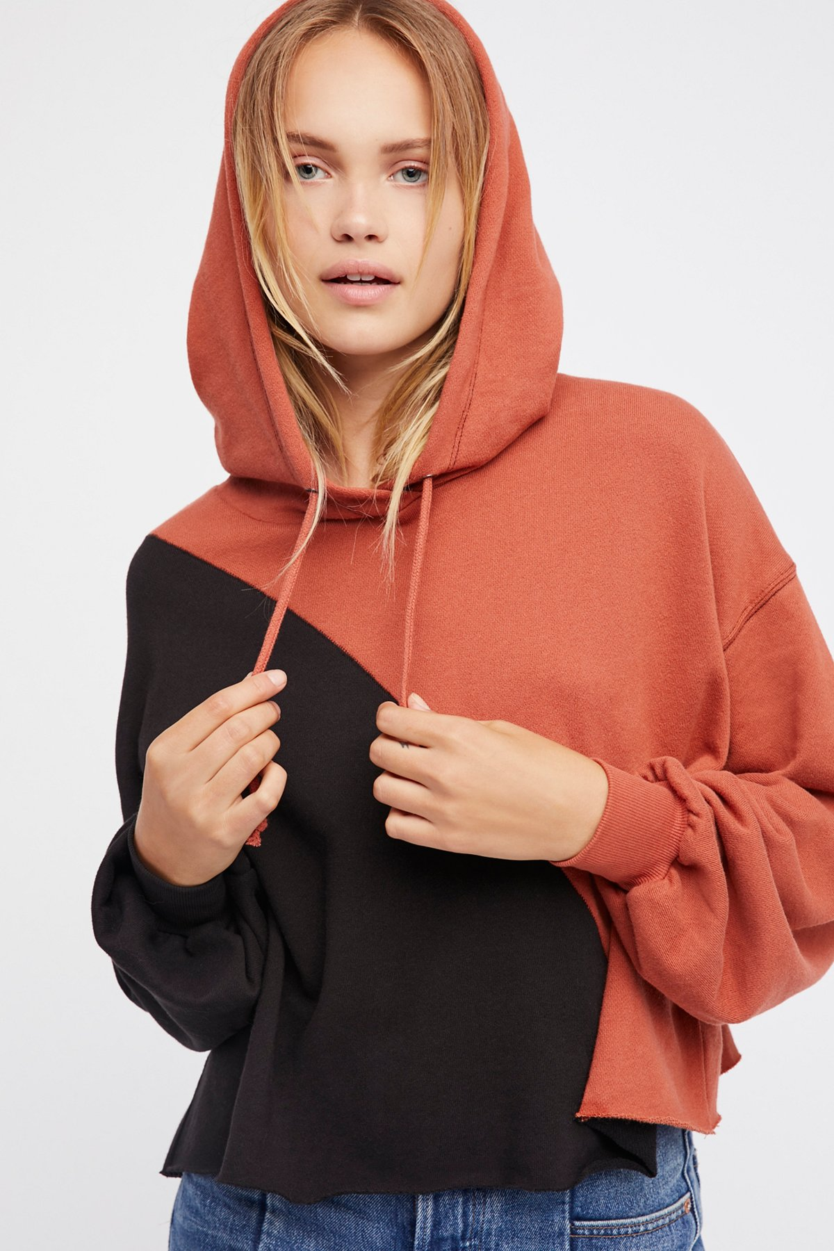 Crop It Color It Hoodie
