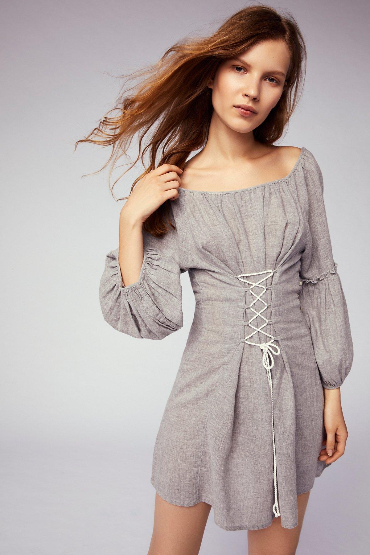Corsette Mini Dress