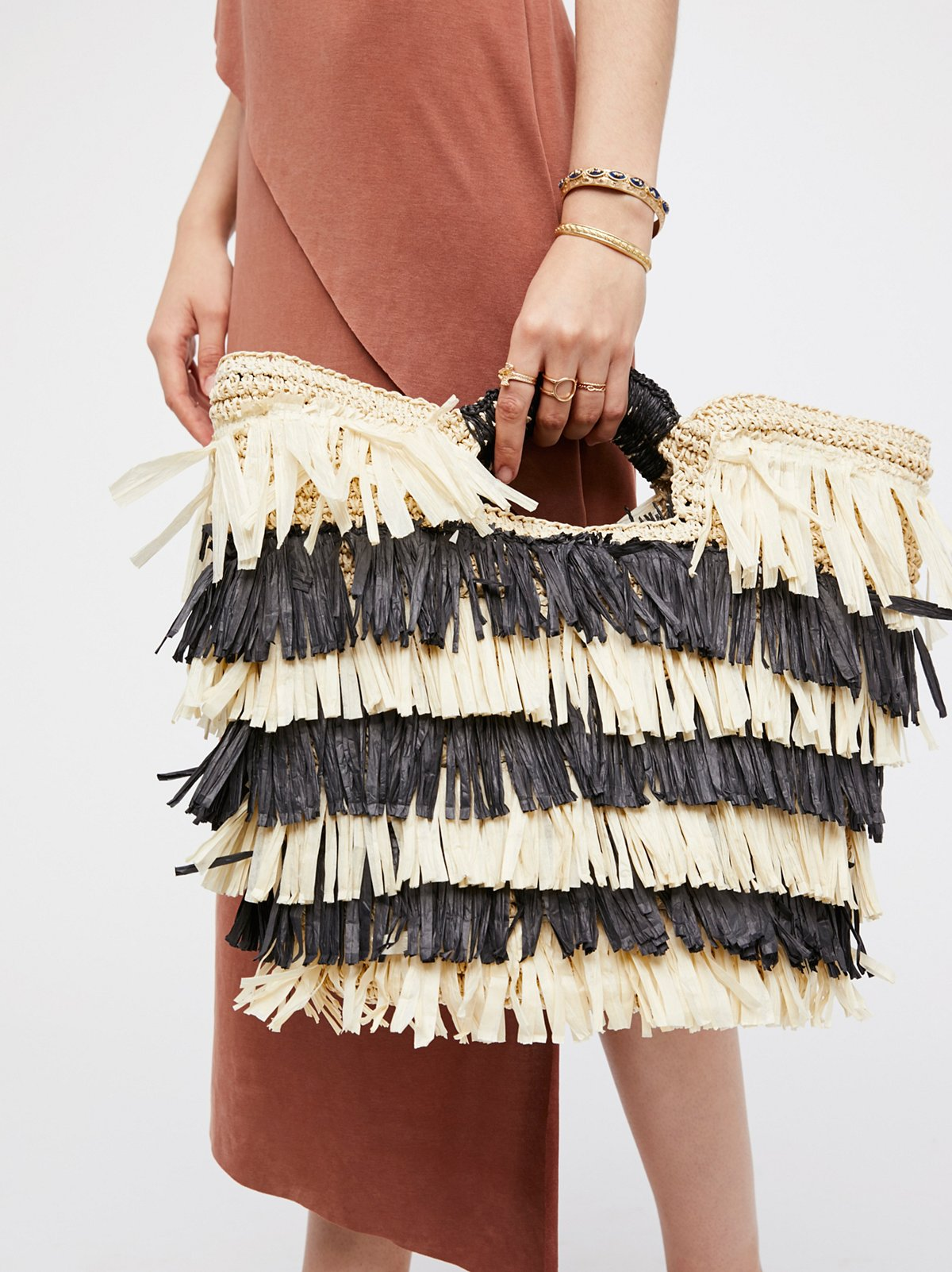 Hula Straw Clutch